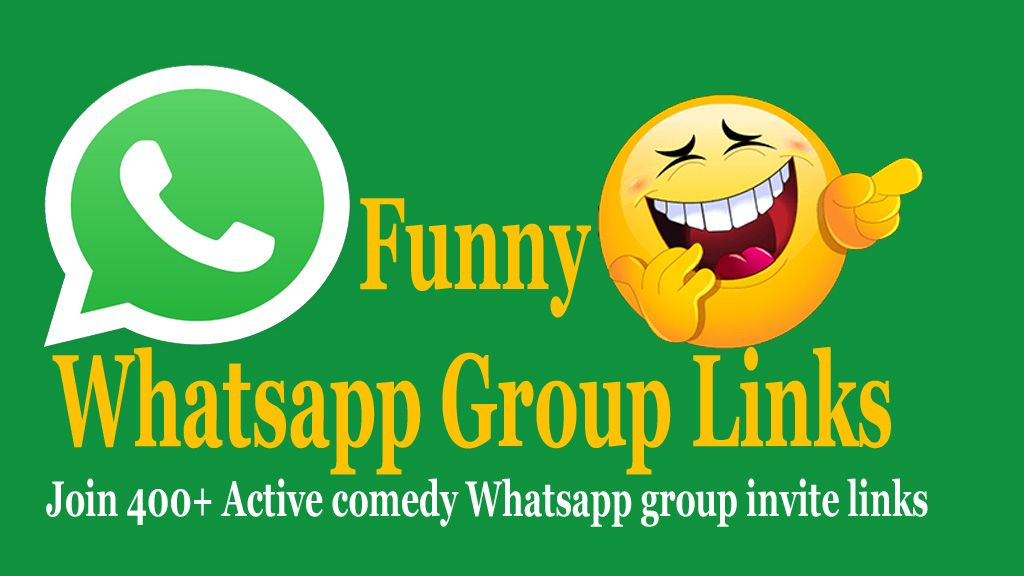 Funny Whatsapp Groups Links