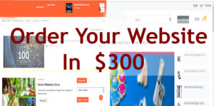 website builder, website,Order Your website,